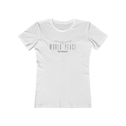 World Peace Montessori Women's Tee