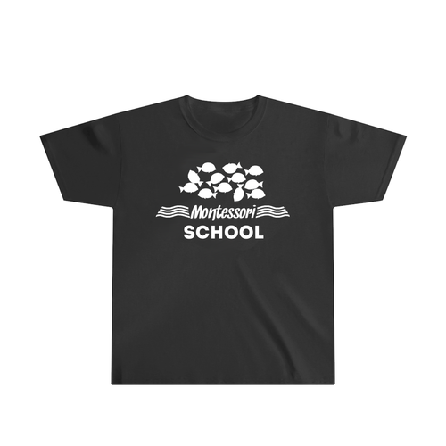 Glow-in-the-Dark Montessori Fish T-Shirt