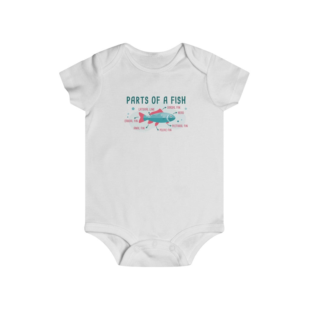 Parts of a Fish Infant Tee