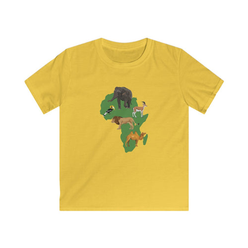 Animals of Africa Kids T-Shirt
