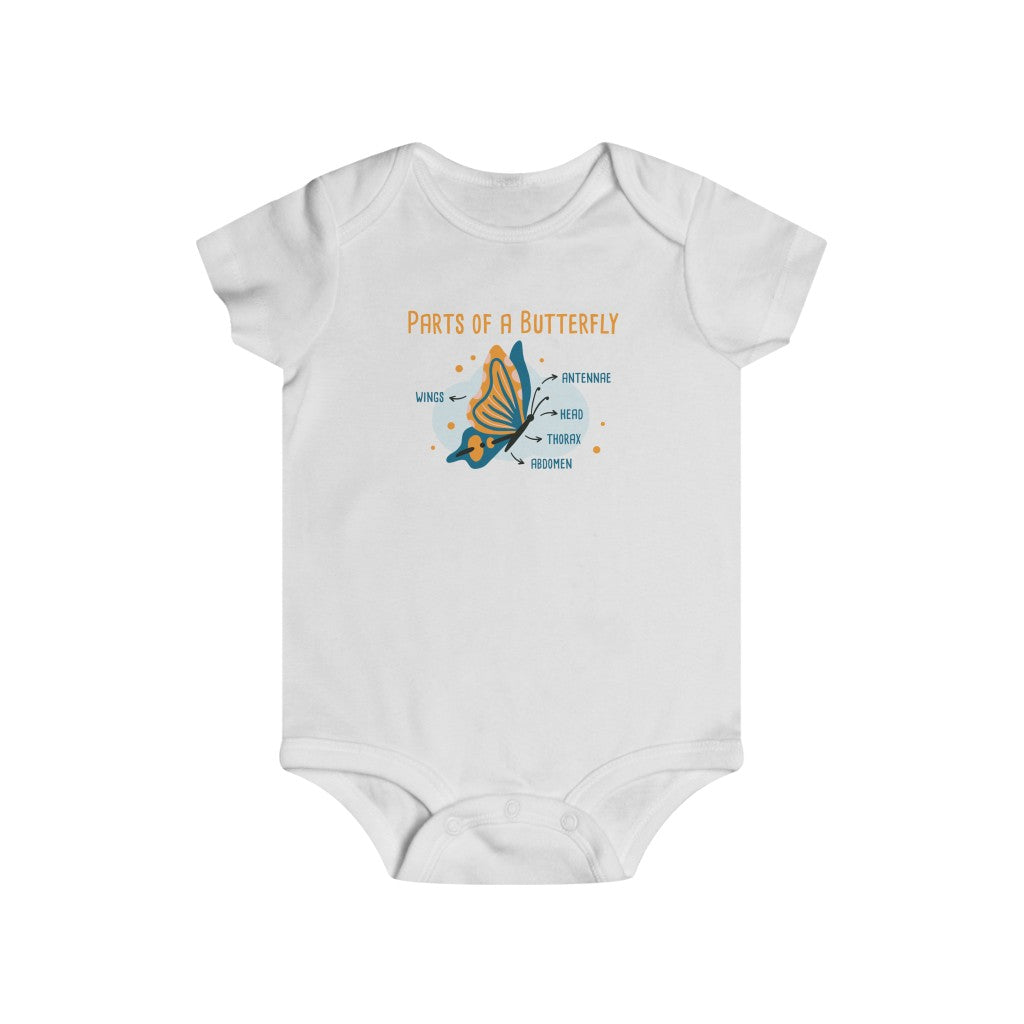 Parts of a Butterfly Infant Tee