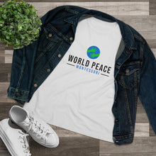 Load image into Gallery viewer, Women's World Peace Hugs T-Shirt