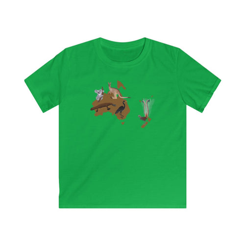 Animals of Australia Kids T-Shirt