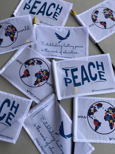 Montessori Peace Themed Flags!