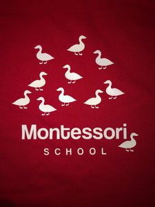 Glow-in-the-Dark Montessori Ducks T-Shirt