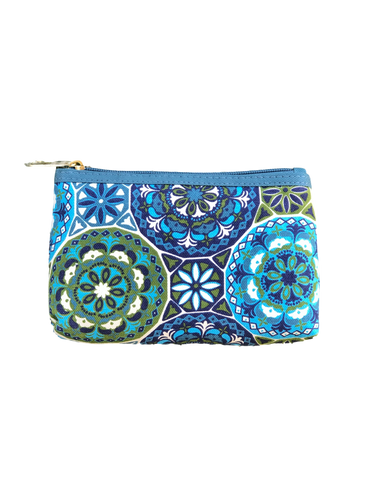 Mandala Zippered Bag