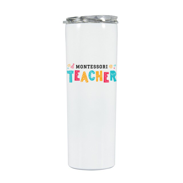 Montessori Teacher Tumbler 20oz
