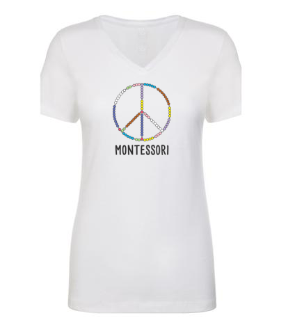 Peace Montessori Women's T-Shirt