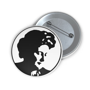 "2"" Maria Montessori Pin Button"