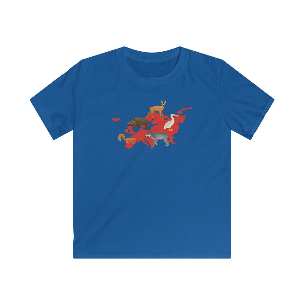 Animals of Europe Kids T-Shirt