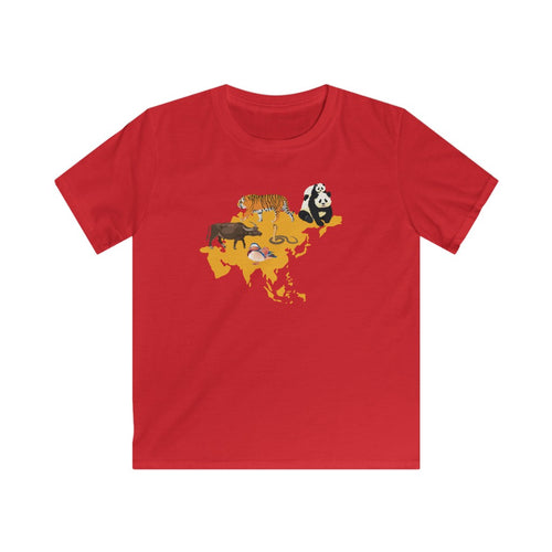Animals of Asia Kids T-Shirt