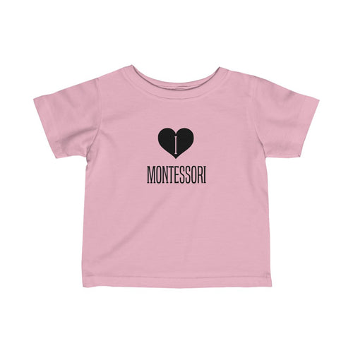 I Heart Montessori Infant Tee