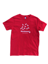 Load image into Gallery viewer, Glow-in-the-Dark Montessori Ducks T-Shirt