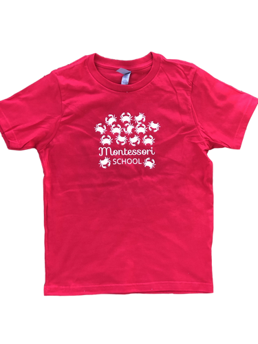 Glow-in-the-Dark Montessori Crabs T-Shirt