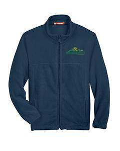 MVA Embroidered Fleece Jacket