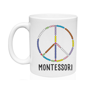 Peace Sign Montessori Mug