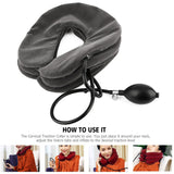 Cervical Neck Traction Device - BETTERDAYSTORE.COM