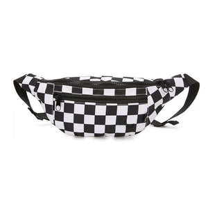 88Glizzy Checked Waist Bag