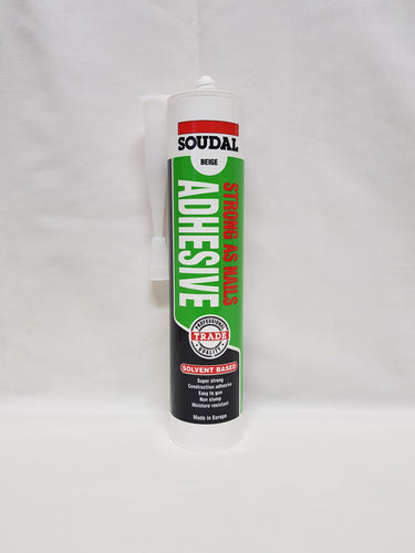 CONSTRUCTION ADHESIVE - STRONG AS NAILS