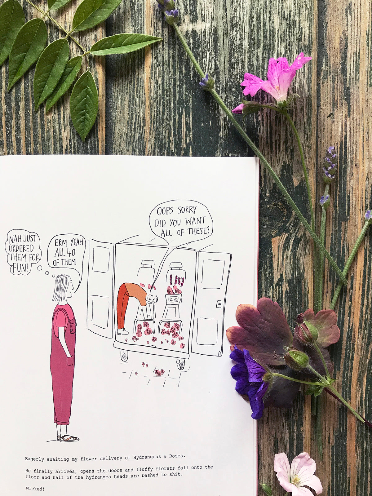 The Book of Florist Confessions