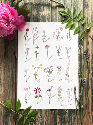 Dainty Florals Poster