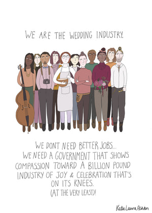 Free Poster 'Better Jobs' for the Wedding Industry