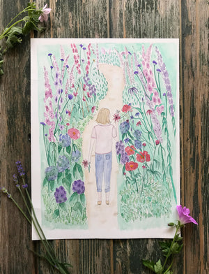 Summer Wandering ~ Original Painting