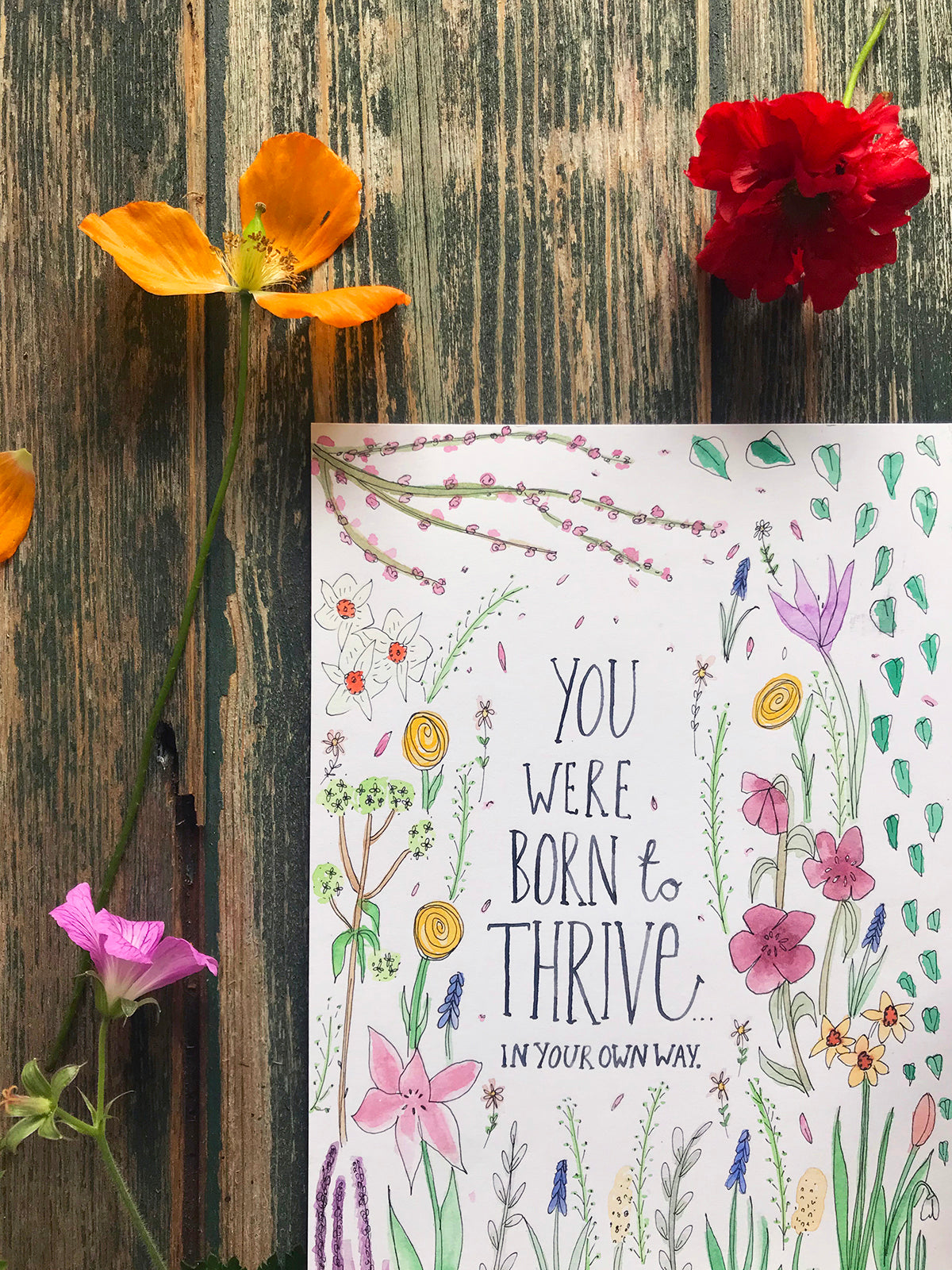 You Were Born to Thrive ~ Original Painting