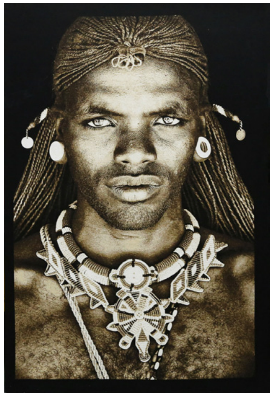 Tribal Tapestry Samburu Warrior