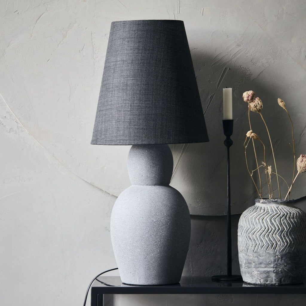 Orga Grey Concrete Lamp