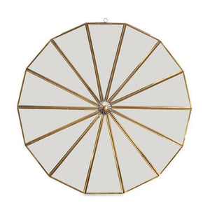 Kiko Round Decorative Mirror