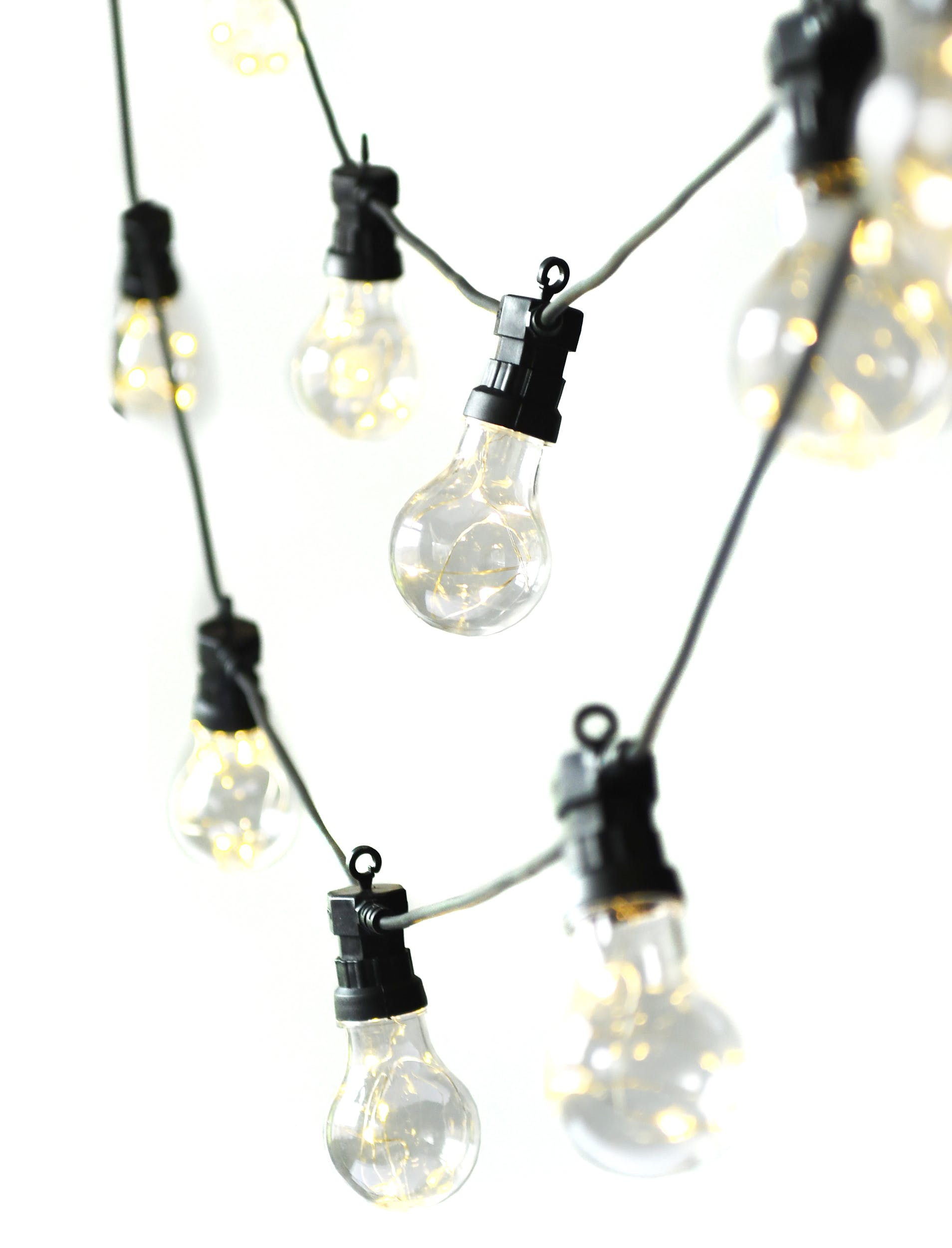 Black Festoon Lights