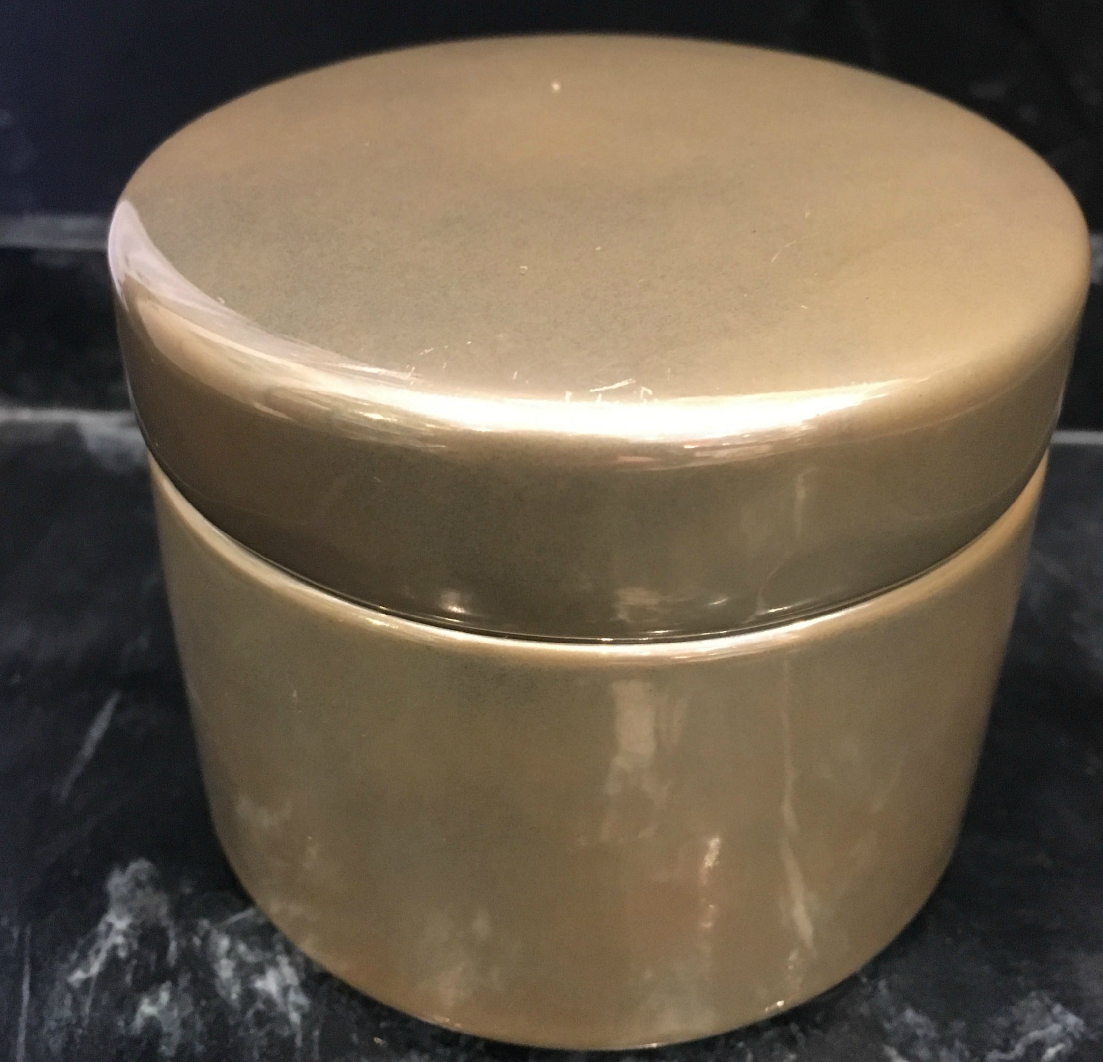 Gold Trinket Pot
