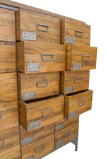 18 Drawer Industrial Apothecary Unit