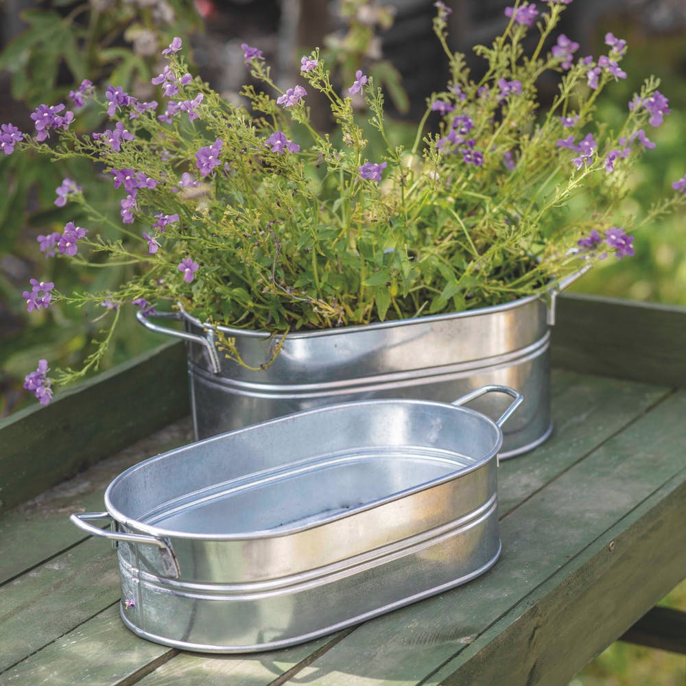 Galvanised Steel Tubs