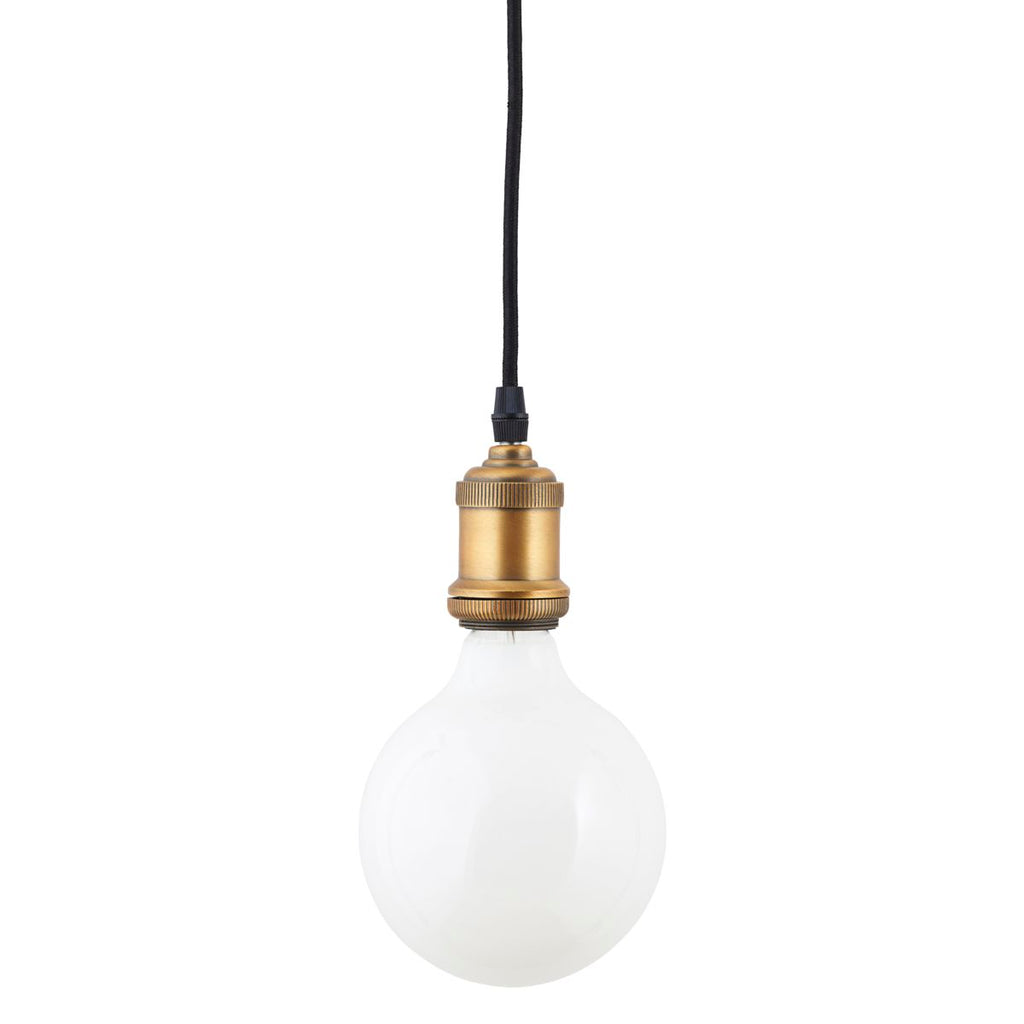 Large White LED Globe Bulb