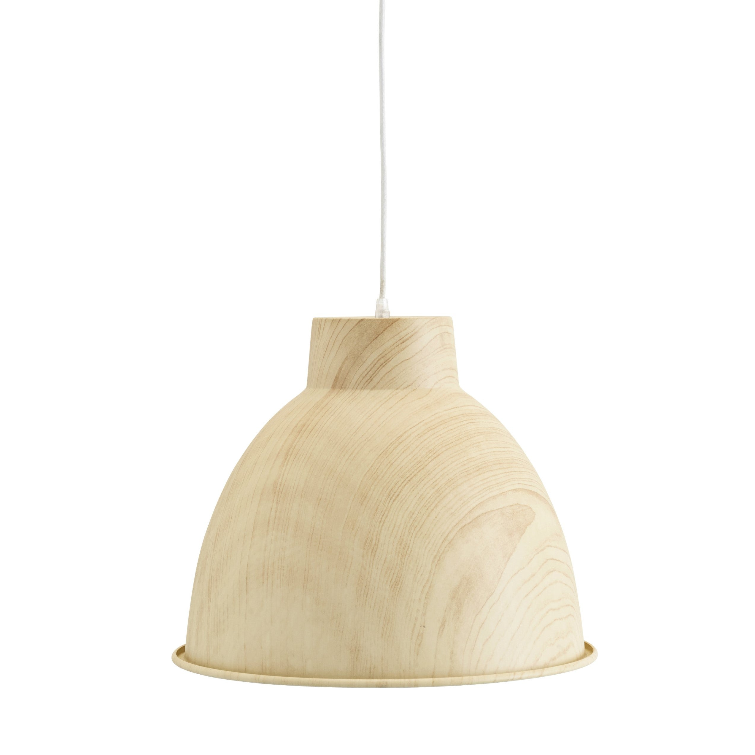 Wood Effect Ceiling Lamp