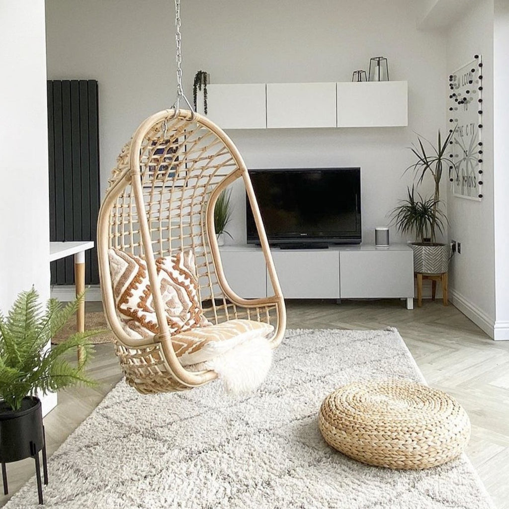 Hanging Rattan Chair - Natural