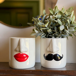 Mr and Mrs Planter Set