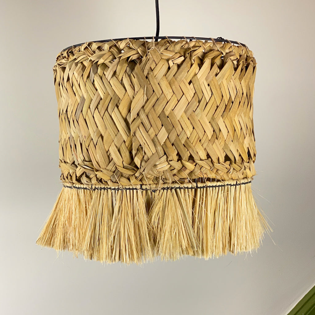 Large Grass Ceiling Lamp