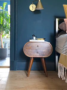 Circular Bedside Table