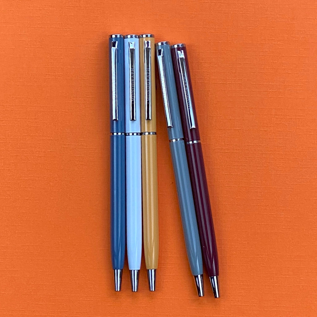 Set of 5 Ball Pens