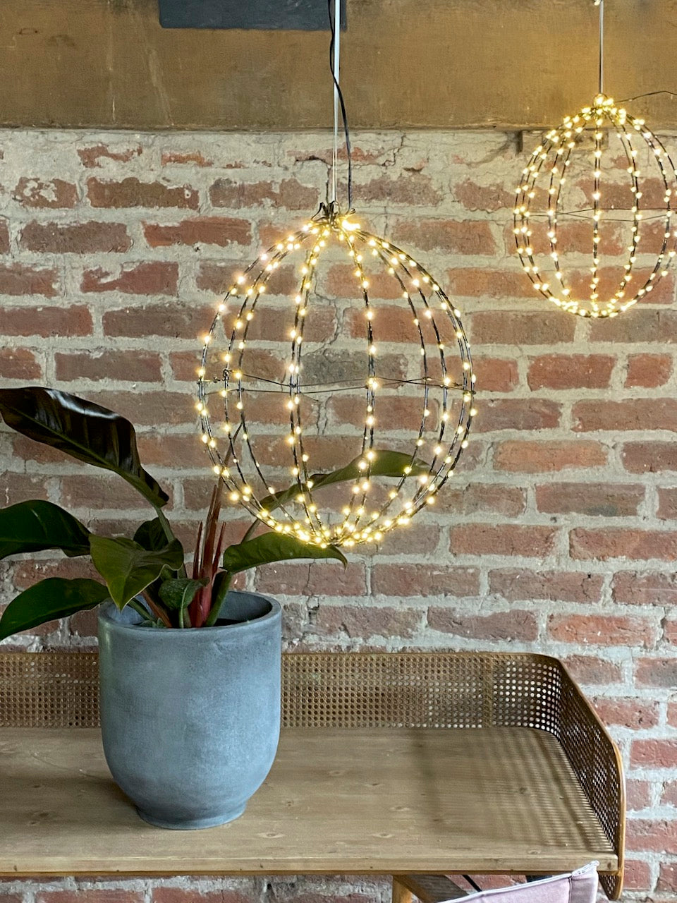 Sphere Hanging Light