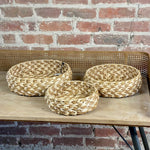 Wicker Tray Set