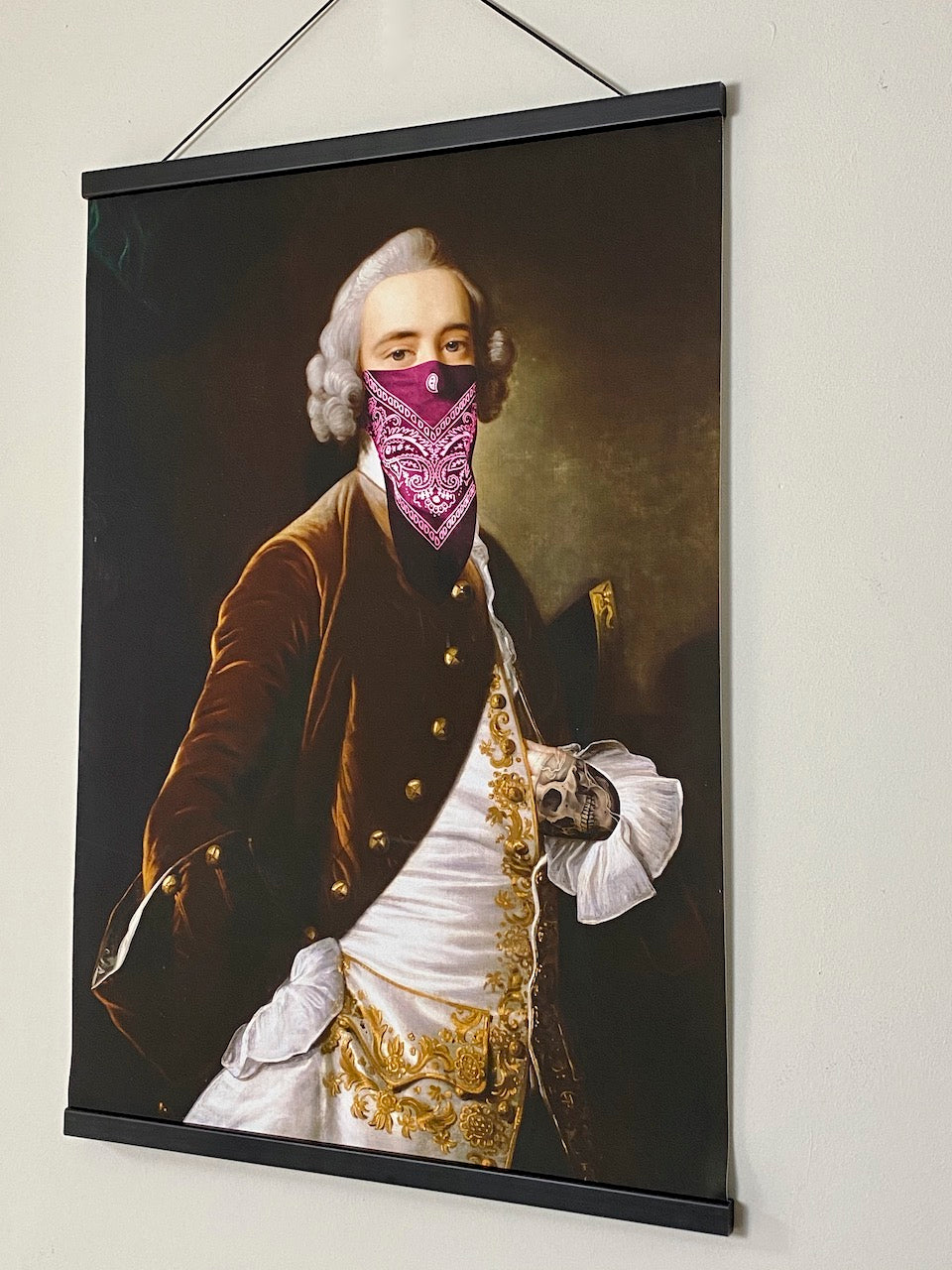 Portrait of an Aristocrat with Scarf