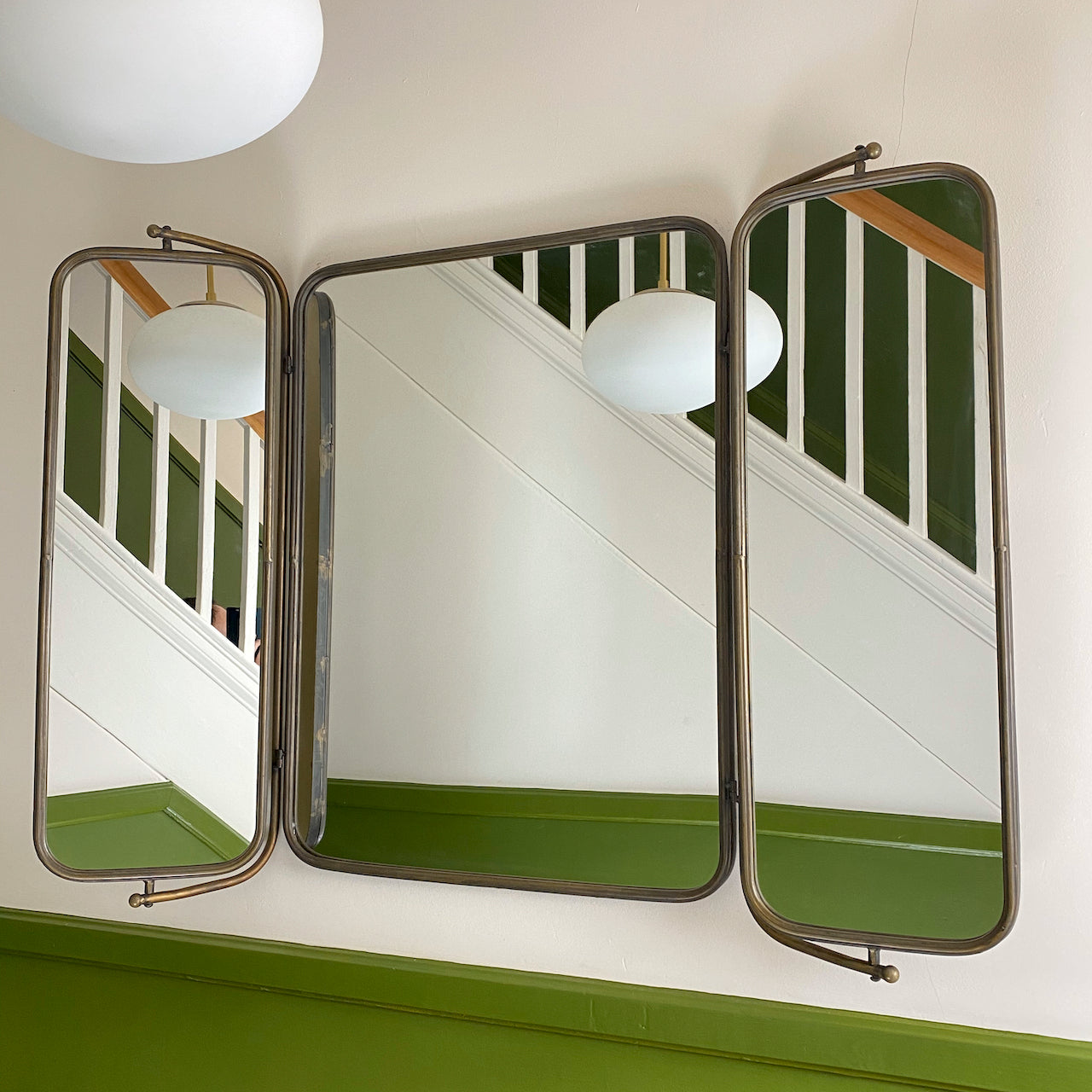 Large Folding Industrial Mirror