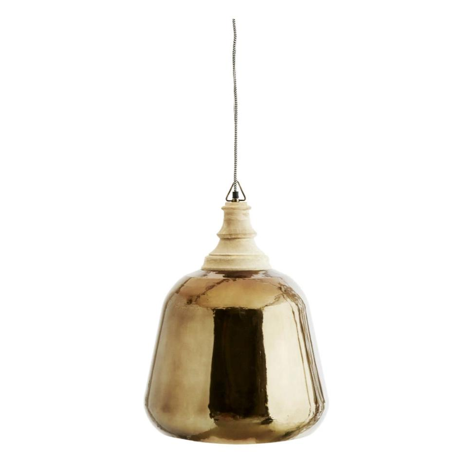 Metallic Brass Ceiling Lamp
