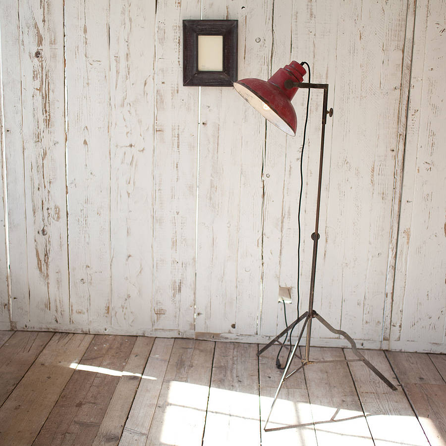 Oboro Industrial Floor Lamp