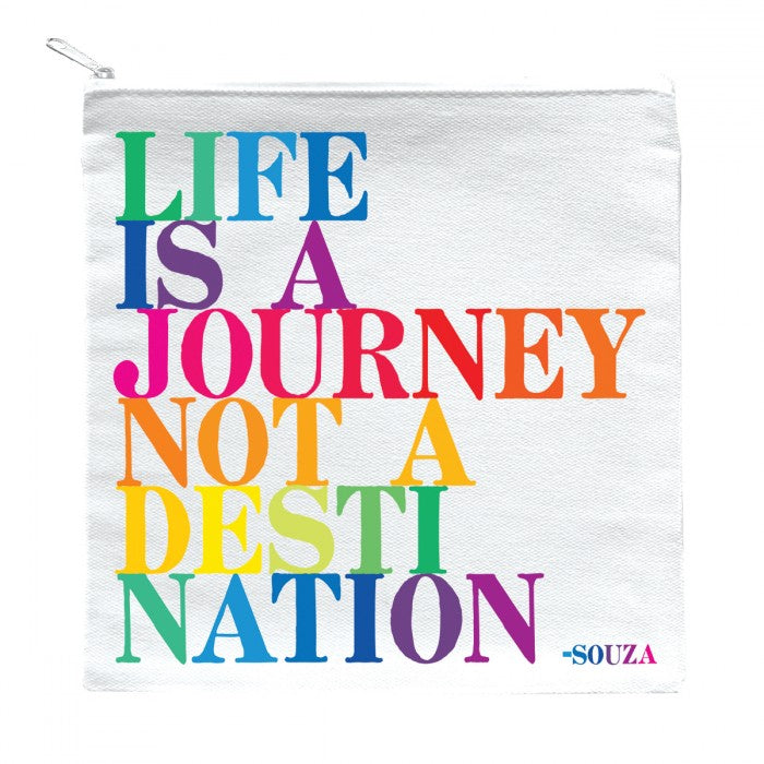 Zipped Pouch -Life Journey