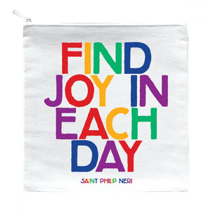 Zipped Pouch - Find Joy